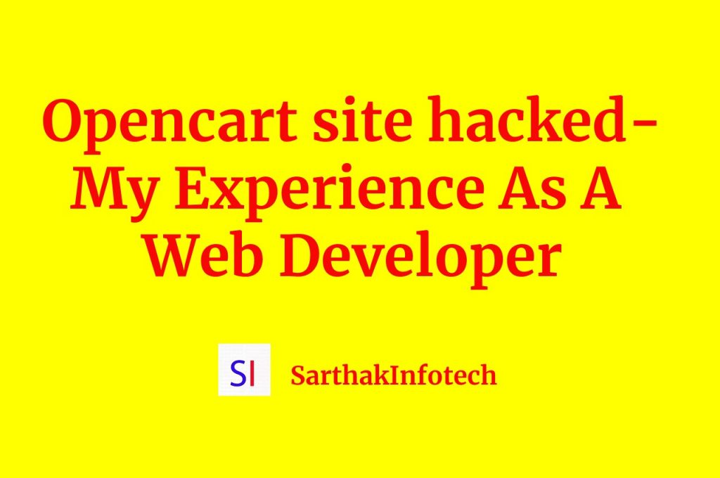 opencart site hacked
