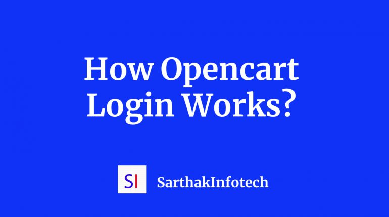 How Opencart Login Works ?