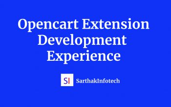 Opencart Extension Development Experience